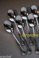 Teaspoons ~ Elegance Pattern ~ 6 Pieces  ~ Stainless Steel ~ Brand New