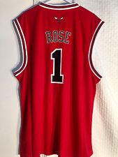 Adidas NBA Jersey Chicago Bulls Derrick Rose Red sz 2X