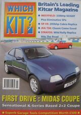 Which Kit? magazine 07/1995 featuring Westfield, Midas, JBA, SRV8