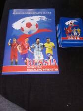 ***NEW*** EMPTY ALBUM & 50 SEALED PACK 2018  WORLD CUP RUSSIA - NO PANINI