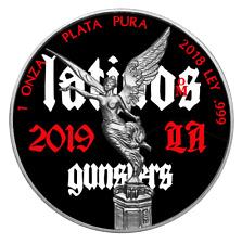 2018 Mexico 1 Onza Libertad Latinos 1 Oz Silver Coin