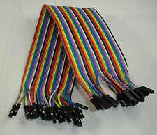 40 Dupont Prototype Cable Female/Female Hembra/Hembra 300mm Arduino