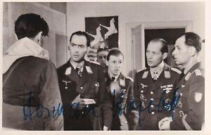 Photo Signed by Herman Hogeback KC Bomber Pilot Battle of Britain