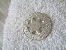 Vintage 1957 Dorney Park Souvenir Lucky Star Token Coin