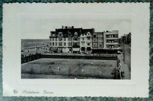 Postcard R.P.1939 Belgium.Middelkerke Tennis.Edward Nels.