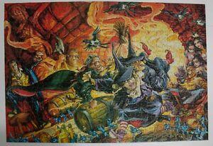 Gibsons Terry Pratchett Carpe Jugulum 1000 piece jigsaw puzzle