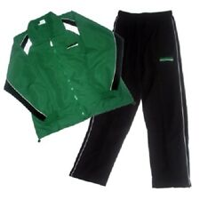 Microfaser Präsentationsanzug Trainingsanzug, grün/schwarz, diverse Größen