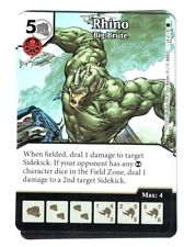 Marvel Dice Masters Spider-Man, Rhino Big Brute 64/142 Card & Die