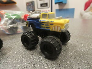 McDONALDS HAPPY MEAL TOYS HOT WHEELS ATTACK PACK 1993 MONSTER TRUCK