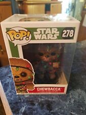 Funko Pop! Chewbacca - Holiday #278~ New~ Mint Condition~ Star Wars Series~