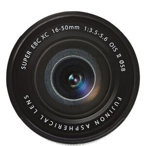 BRAND NEW Fujifilm Fujinon  Fuji XC 16-50mm II f/3.5-5.6 SILVER -DHL Express-