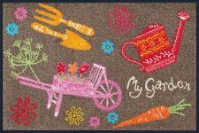 Fußsmatte My Garden Fußabstreifer Garten Motive waschbare Türmatte innen u außen