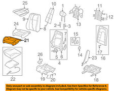 AUDI OEM TT Quattro Front Seat Bottom-Foam Cushion Pad Insert Left 8J0881361