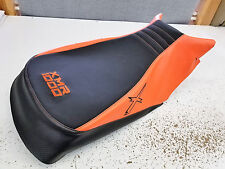 can am can-am outlander 570 650 800 1000 seat cover ORANGE THREAD AND X LOGO