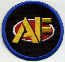 "3"" Fully Embroidered GI Joe Action Force Logo Iron-On Patch"