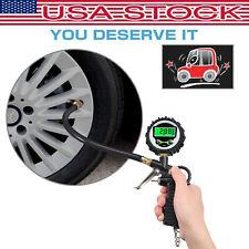 Digital LCD Tire Air Pressure Guage Meter Tester Tyre Gauge for Car Bike Truck