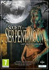 Society of the Serpent Moon: Last Half of Darkness - PC DVD - New & Sealed