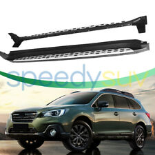 FITS SUBARU OUTBACK SUV RUNNING BOARD SIDE GUARD PROTECTOR SIDE STEP 2009-2018