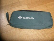 "New listing Greenlee Storage/ Carry Case 11 1/4"" X 5"" X 2"""