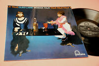 Cleo Laine LP Woman Talk Orig UK 1964 NM Lamianted Cover