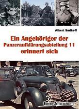 """Ein Angehöriger d. Panzeraufklärungsabteilung 11 erinnert sich - Div. """"Nordland"""""""