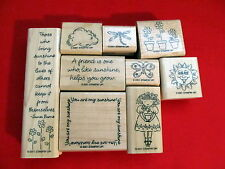 Stampin Up You Are My Sunshine Rubber Stamps Set of 9
