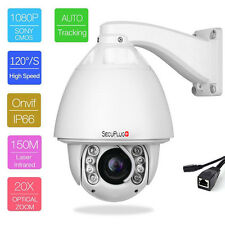 SONY CMOS 20X ZOOM HD 1080P 2.0MP Outdoor PTZ IP Speed Dome Camera Auto Tracking