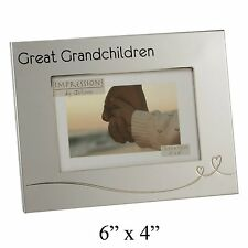 "Photo Frame - GREAT GRANDCHILDREN 6"" x 4"" Grandparent Gift *NEW*"