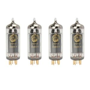 Current Matched Quad (4 pcs) Psvane EL84-S Art Series Vacuum Tubes USA Shipping