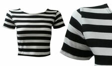 Unbranded Machine Washable Striped Tops for Women