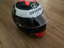Casque de Moto Intégrale Fibre Carbone Shark Racing Race-R Pro Lorenzo Taille S