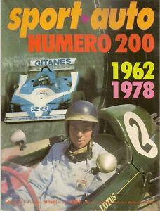 SPORT AUTO 200 1978 F1 GP ALLEMAGNE GP AUTRICHE BMW 635CSi OPEL MONZA 3.0 E ROVE