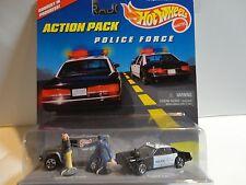 Hot Wheels Police Force Action Pack Set