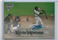2019 Topps Stadium Club Kevin Newman On card autograph RC Pittsburgh Pirates