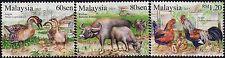 Malaysia 2015 Farm Animals MNH
