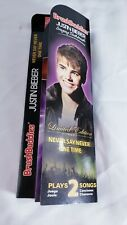 Brush Buddies - Justin Bieber Singing Toothbrush - Never Say Never & One Time