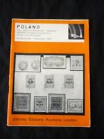 GIBBONS AUCTION CATALOGUE 1967 POLAND 'MYRON E STECZYNSKI' COLLECTION
