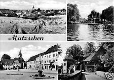 AK, Mutzschen Kr. Gimma, vier Abb., 1972