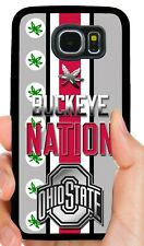 OHIO STATE BUCKEYES PHONE CASE FOR SAMSUNG GALAXY & NOTE S5 S6 S7 EDGE S8 S9 S10