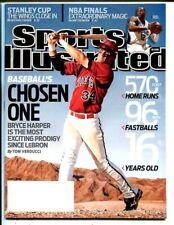 Bryce Harper 2009 Sports Illustrated 6/8 Baseball's Chosen One 50190b26