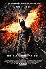 Batman, The Dark Knight Rises - A3 Film Poster - FREE UK P&P
