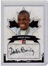 DONOVAN BAILEY 10/11 ITG Canadiana Auto Autograph A-DB2 SP Olympic Star Runner