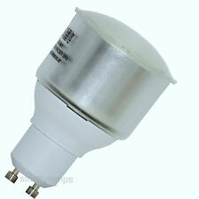 10 x GU10 11watt Low Energy Saving Light Bulbs CFL £44