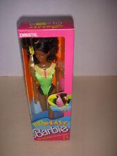 Vintage 1989 Barbie, Beach Blast African American Christie Doll #3253, NRFB!