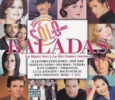 Alejandro Fernandez,Jose Jose,Rio Roma,Yuridia,Juan Gabriel 2CD+DVD NEW BOX SET