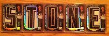 (HCW) 2008-09 UD Black RYAN STONE Auto Lettermen Nameplate RC Autograph Set