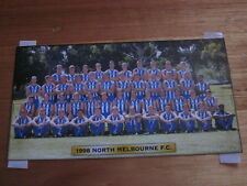 NORTH MELBOURNE TEAM PHOTO OFFICIAL 1998 BRAND NEW IN SEALED ENVELOPE