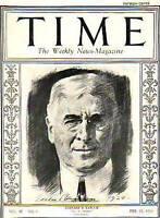 1924 Time February 25 - Bernard Baruch; Ku Klux Klan