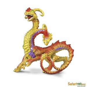 Safari Ltd 10144 Zweiköpfiger Drache 12 cm Serie Mythologie