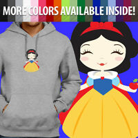 Snow White Seven Dwarfs Disney Princess Apple Pullover Sweatshirt Hoodie Sweater